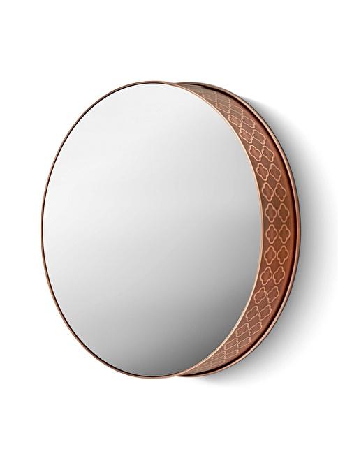 The Mia Ayna 44 Cm - Bakır Kaplama Bakır